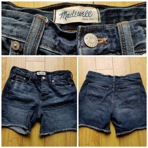 MADEWELL Cut off Jean Shorts